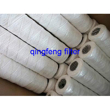 PP Cotton String Wound Filter Cartridge 5 Micron