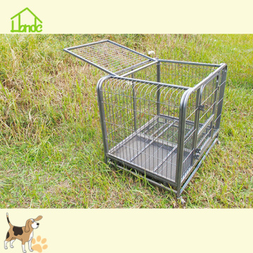 New design black metal dog house