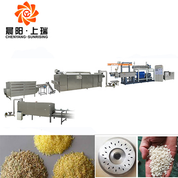 Artificial rice extruder machinery nutritional rice machine