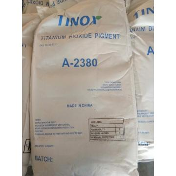 Tinox titanium dioxide for rubber industry