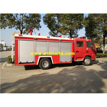 7000L 185HP Fire Rescue Tender Vehicles