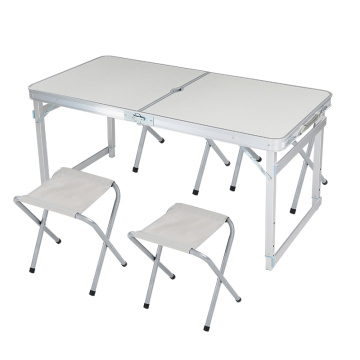 Aluminum outdoor folding table