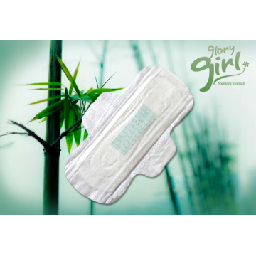 High Quality Female cotton breathable anion sanitary napkins