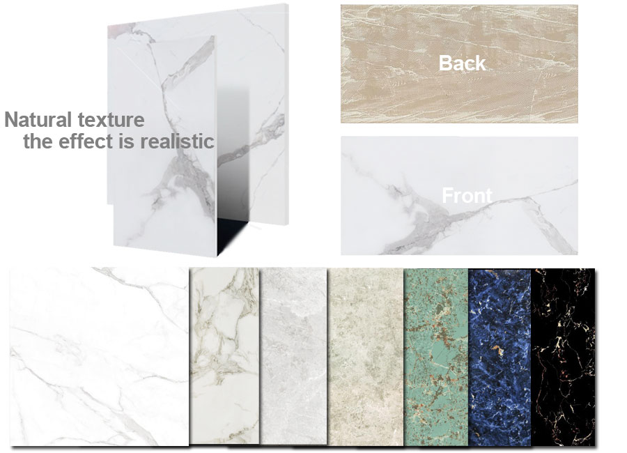Faux Marble Wall Tiles