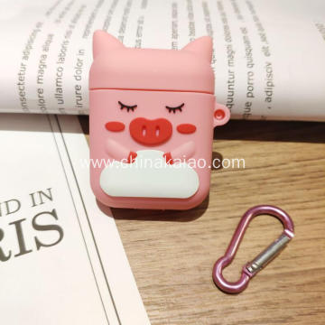 Popular Cartoon Design Earphone Silicone Case for Airpod