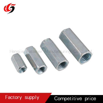 Long hex coupling nut