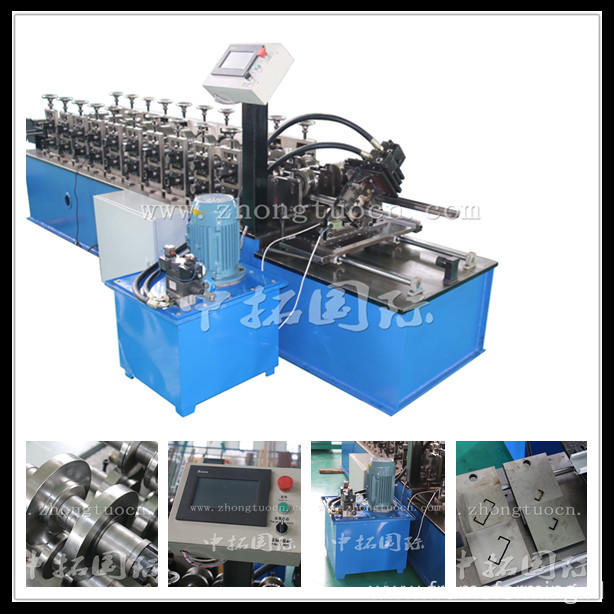 Suspended ceiling channel making machine