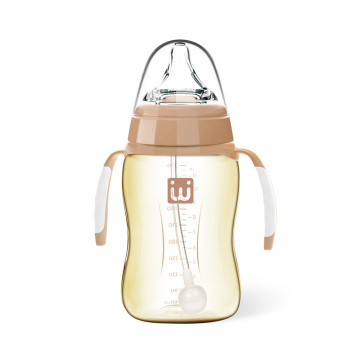 New Infant Wide Neck Feeding Bottle PPSU 330ml