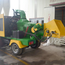 Factory direct sale (changchai diesel engine) wood chipper