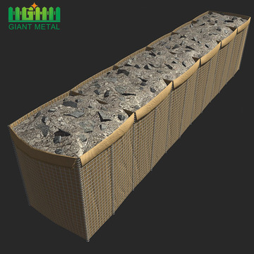 Welded Galvanized Retaining Wall Hesco Flood Barriers