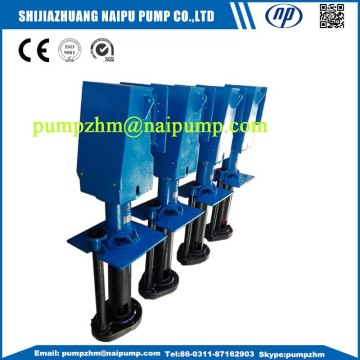 submersed vertical slurry pump