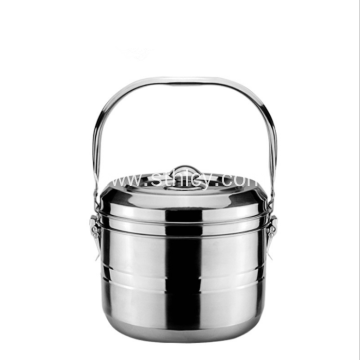 Stainless Steel Heat Preservation Vacuum Mention Pot