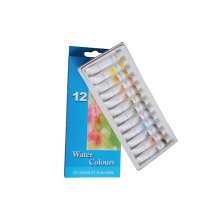 12 Colors 12ml Students' Water Paint Set