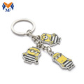 Custom Made Die Cast Enamel Metal Keychains