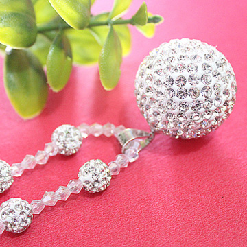 Big Shamballa Ball High Quality Shamballa Beads Necklace