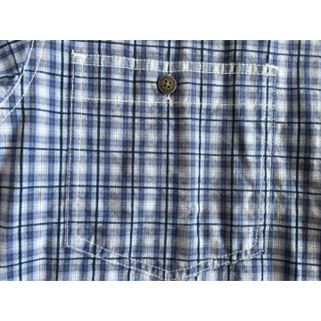 100% Cotton Man Yarn Dyed Shirt