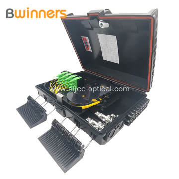 Ftth Fiber Optic Distribution Box 16 Cores With Plc Splitter