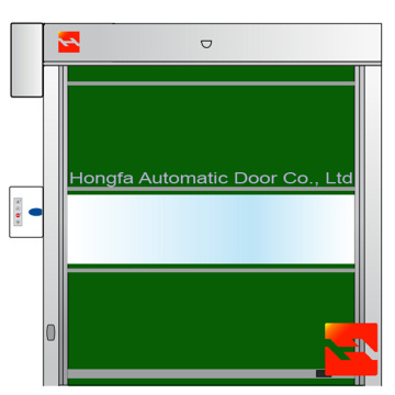 Interior High Speed PVC Door