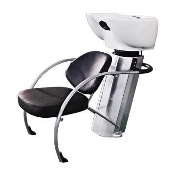 Black Seat Shampoo Chair