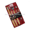 4pcs Barbecue Accessories Set with Blister Packaging
