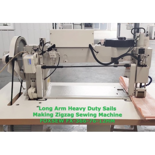 Long Arm Heavy Duty Sails Making ZigZag Sewing Machine