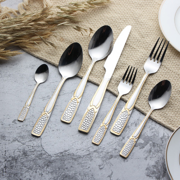 Hotel Vintage wedding  Stainless Steel cutlery set