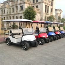 4 person ez go golf cart with electric power