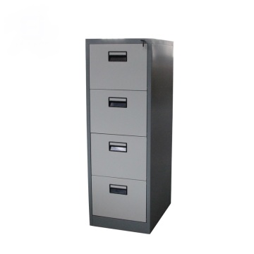 Two Color 4 Drawer File Cabinet
