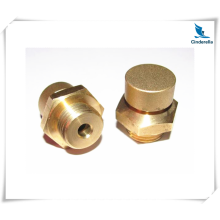 CNC Machined Brass Pipe Valve Nut