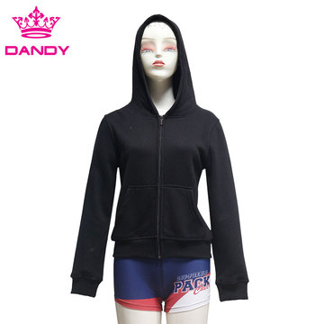 Cheap blank black hoodies
