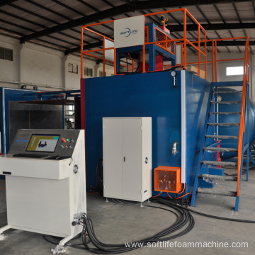 Fully automatic vacuum Quadrate Foaming Mould Machine