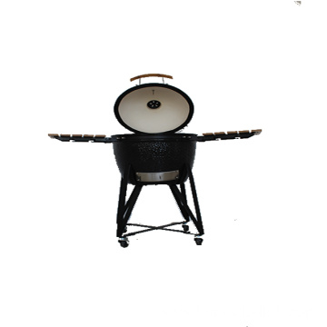 Fast Delivery 21 Inch Ceramic Kamado BBQ Grill
