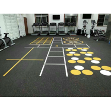 noise-proof recycled rubber gym flooring mats