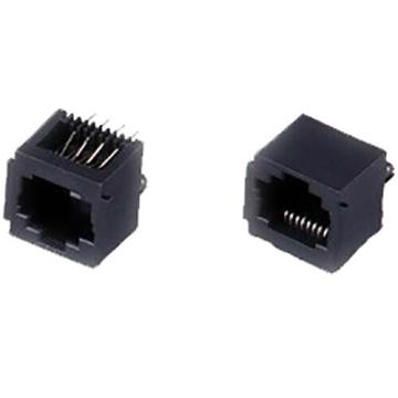 RJ45 Jack Top Entry Full Plastic with Panel