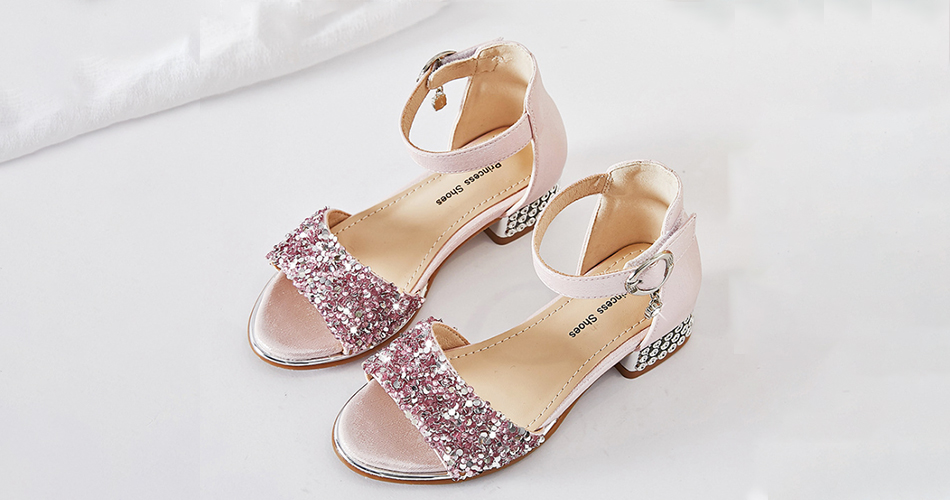 Girls Sequins Shoes