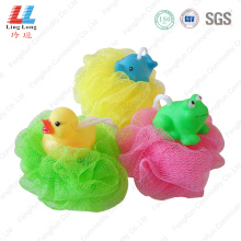 Lively animal crafted bath ball