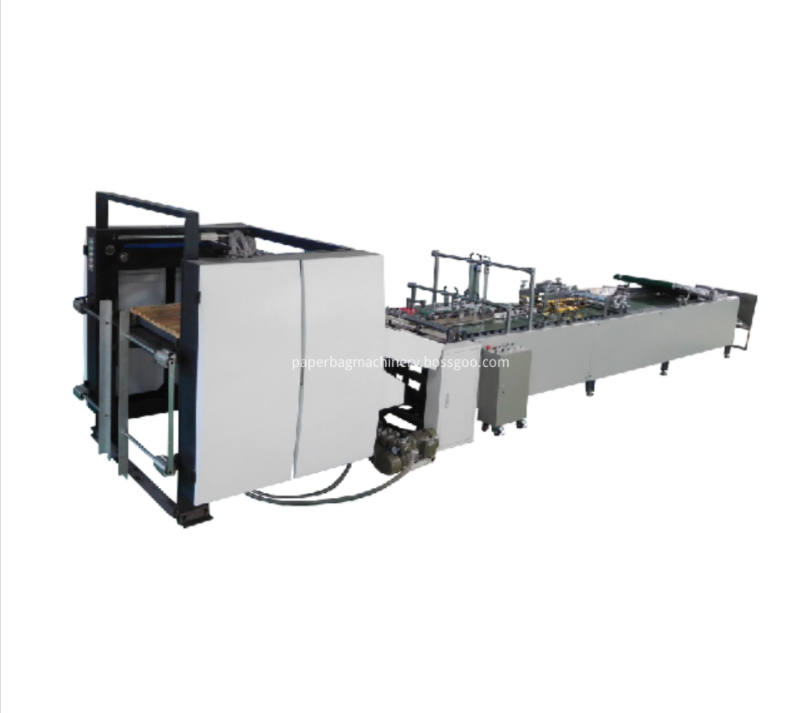 semi automatic paper bag machine