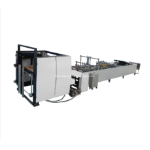 Roll Paper Bag Making Machine Square Bottom