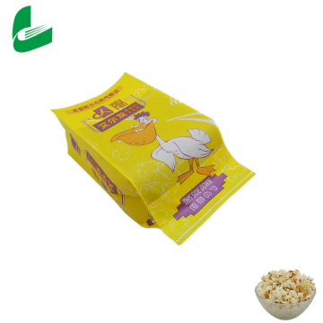 Hot on sale from factory Gravure printing Custom Design Logo Printed Heat Seal Microwave Popcorn Bags