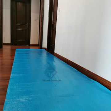 Sticky Construction Decorators Protective Floor Covering