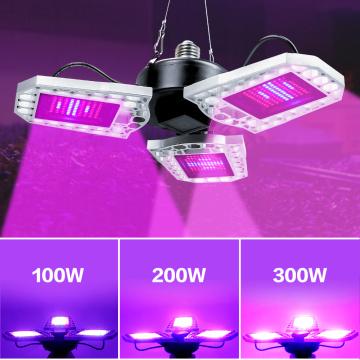 E27 Indoor Plant Grow Light LED Seedling Fito Lamp 100W 200W 300W Phyto Growing Bulb LED Full Spectrum Flower Seed Lampara 220V