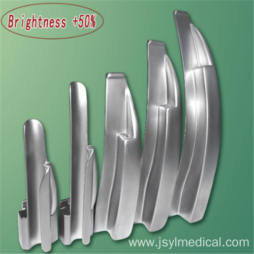 Optical Fiber Reusable Laryngoscope set