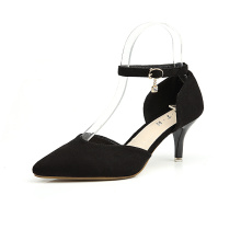 New Suede Leather Stiletto Heel Pumps Shoes