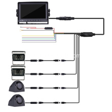 Quad Backup Camera Monitor für Van