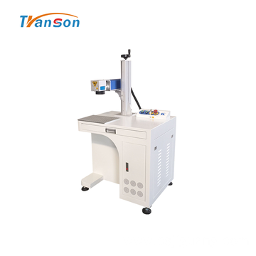 Economical Desktop Fiber Laser Marking Machine For Sale