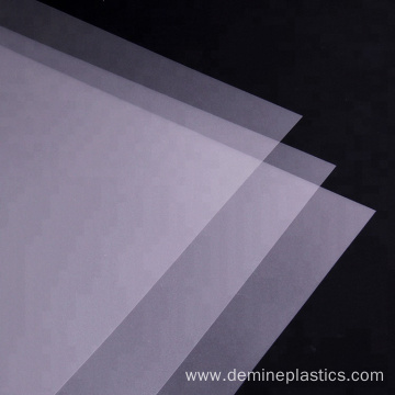 A4 size Polycarbonate Plastic Business Card Printing Film