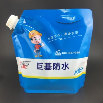 Laminated material 5L standing water bag outlet bag