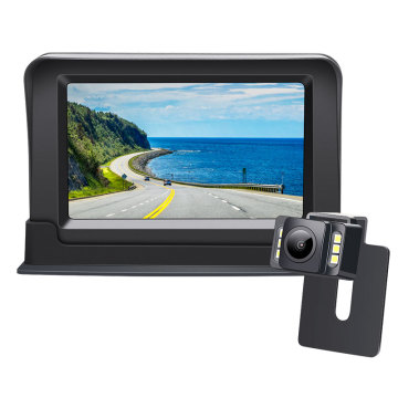 wide angle car backup camera parking