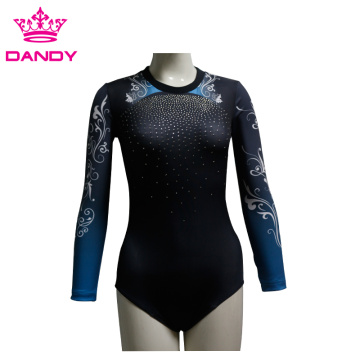 Comfortable Custom Long Sleeves Dance Suit