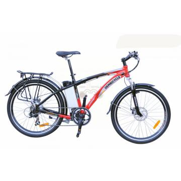 "26"" Alloy Electric Mountain Bike With Disc Brake"